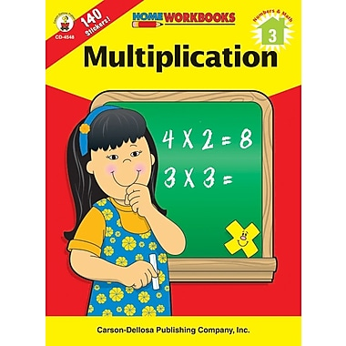 Carson-Dellosa Multiplication Workbook