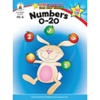 Brighter Child 104331 Numbers 0-20 Workbook