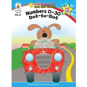 Brighter Child 104332 Numbers 0-30: Dot-to-Dot Workbook
