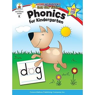 Carson-Dellosa Phonics for Kindergarten Resource Book