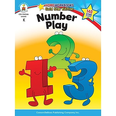 Carson-Dellosa Number Play Resource Book