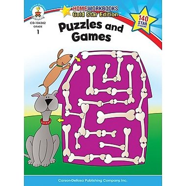 Carson-Dellosa Puzzles and Games Resource Book