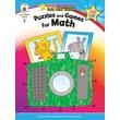 Carson-Dellosa Puzzles and Games for Math Resource Book, Grade 2