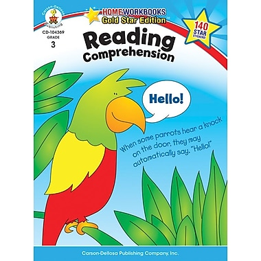 Carson-Dellosa Reading Comprehension Resource Book, Grade 3