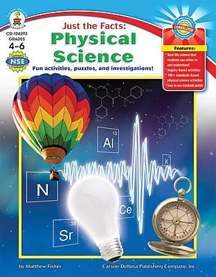 Carson-Dellosa Just the Facts: Physical Science Resource Book 803842