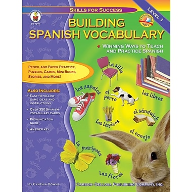 Carson-Dellosa Building Spanish Vocabulary Resource Book