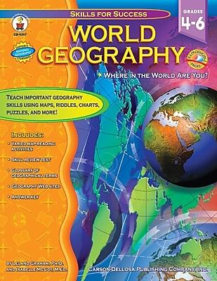 Carson-Dellosa World Geography Resource Book 803998
