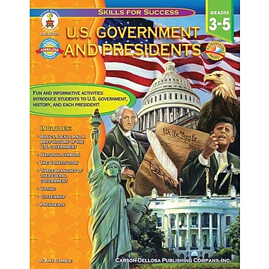 Carson-Dellosa U.S. Government and Presidents Resource Book