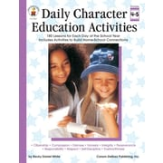 Carson-Dellosa Daily Character Education Activities Resource Book, Grades 4 - 5