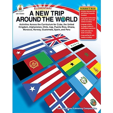 Carson-Dellosa A New Trip Around the World Resource Book