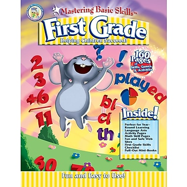 Rainbow Bridge Mastering Basic Skills® for First Grade Workbook