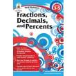 Carson-Dellosa Fractions, Decimals, and Percents Resource Book