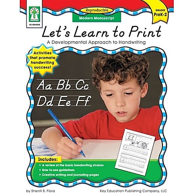 Key Education Let's Learn to Print: Modern Manuscript Resource Book