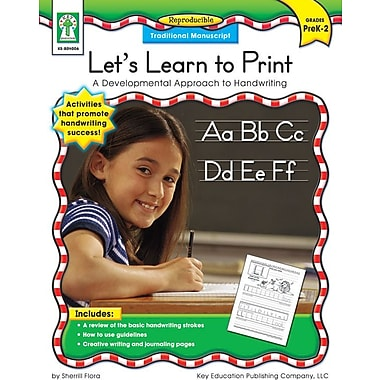 Key Education Let's Learn to Print: Traditional Manuscript Resource Book