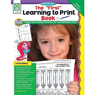 "Key Education The ""First"" Learning to Print Book Resource Book"
