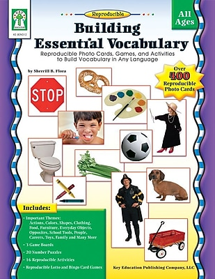 Key Education Building Essential Vocabulary Resource Book 804819
