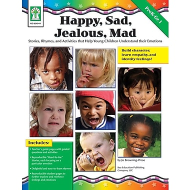 Key Education Happy, Sad, Jealous, Mad Resource Book