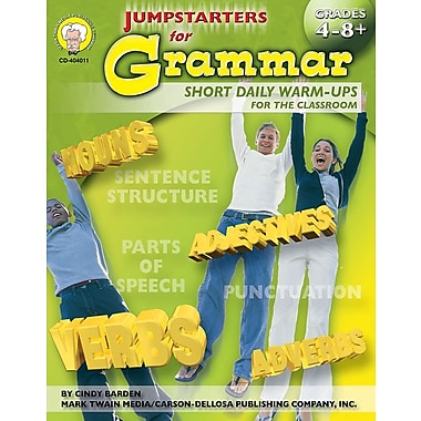 Mark Twain Jumpstarters for Grammar Resource Book