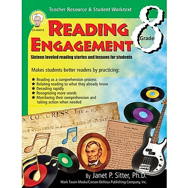 Mark Twain Reading Engagement Resource Book, Grade 8