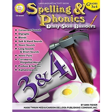 Mark Twain Spelling and Phonics Resource Book