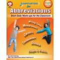 Mark Twain Jumpstarters for Abbreviations Resource Book