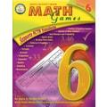 Mark Twain Math Games Resource Book, Grade 6