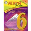 Mark Twain Math Games Resource Book, Grade 6