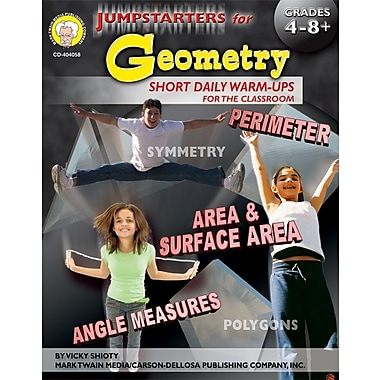 Mark Twain Jumpstarters for Geometry Resource Book