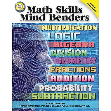 Mark Twain Math Skills Mind Benders Resource Book