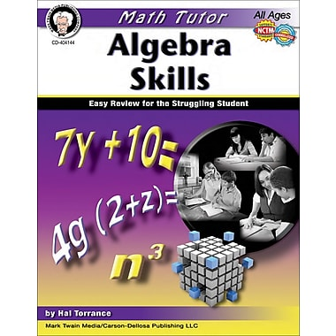 Mark Twain Math Tutor: Algebra Resource Book