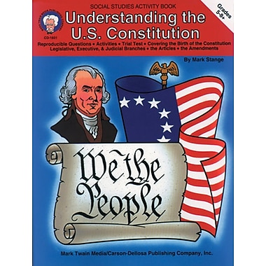Mark Twain Understanding The U.S. Constitution Resource Book, Grades 5 - 8+