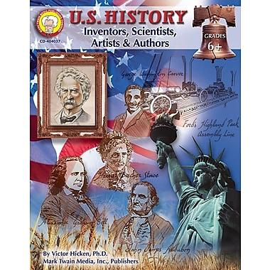 Mark Twain U.S. History Resource Book, Inventors, Scientists, Authors, Grades 6+