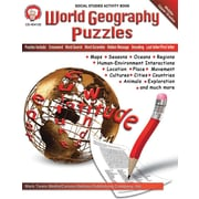 Mark Twain World Geography Puzzles Resource Book