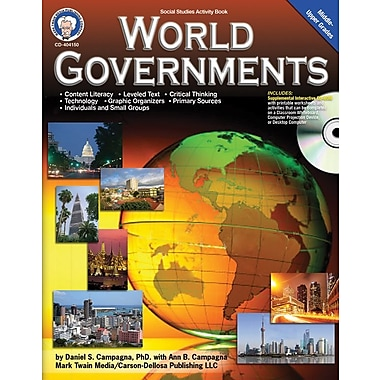 Mark Twain World Governments Book with CD