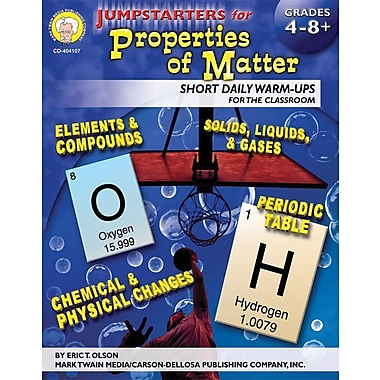Mark Twain Jumpstarters for Properties of Matter Resource Book