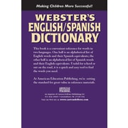 American Education Webster's English-Spanish Dictionary Resource Book