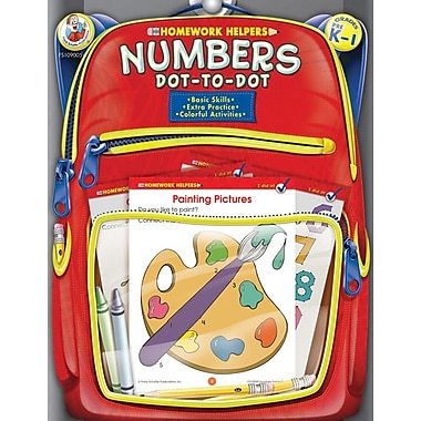 Frank Schaffer Numbers Dot-to-Dot Workbook