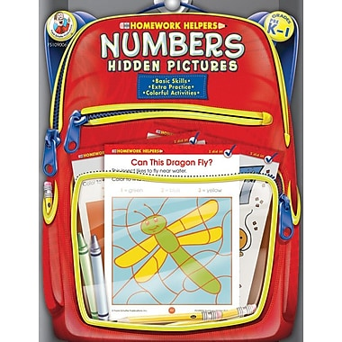 Frank Schaffer Numbers Hidden Pictures Workbook