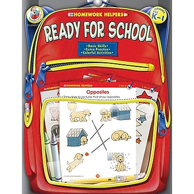 Frank Schaffer Ready for School Workbook