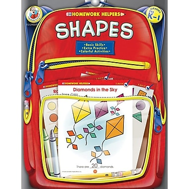 Frank Schaffer Shapes Workbook