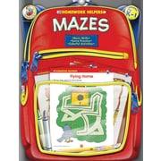Brighter Child 0768206863 Mazes Workbook