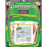 Frank Schaffer Kindergarten Activities Homework Helper Workbook