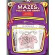Frank Schaffer Mazes, Puzzles, and Games Workbook