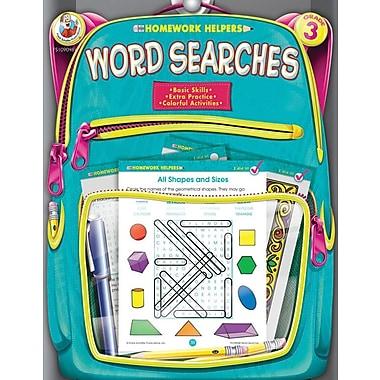 Frank Schaffer Word Searches Workbook, Grade 3