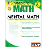 Frank Schaffer Mental Math Workbook, Grade 6/Level 3