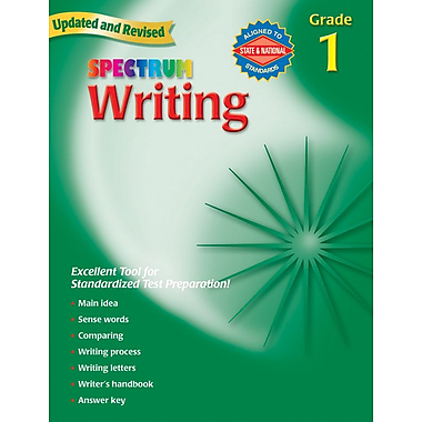 Spectrum Writing Workbook, Grade 1