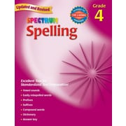 Spectrum Spelling Workbook, Grade 4