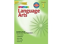 Spectrum Language Arts Workbook, Grade 1