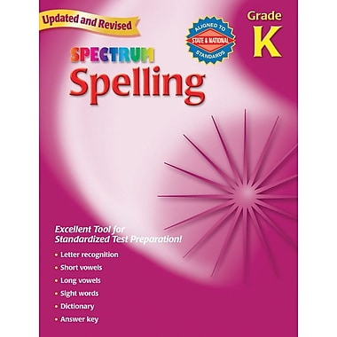 Spectrum Spelling Workbook