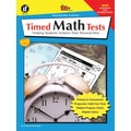 Instructional Fair Timed Math Tests, Addition and Subtraction Resource Book